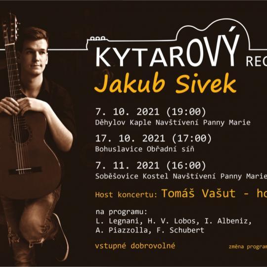 Kytarový recitál - Jakub Sivek 1
