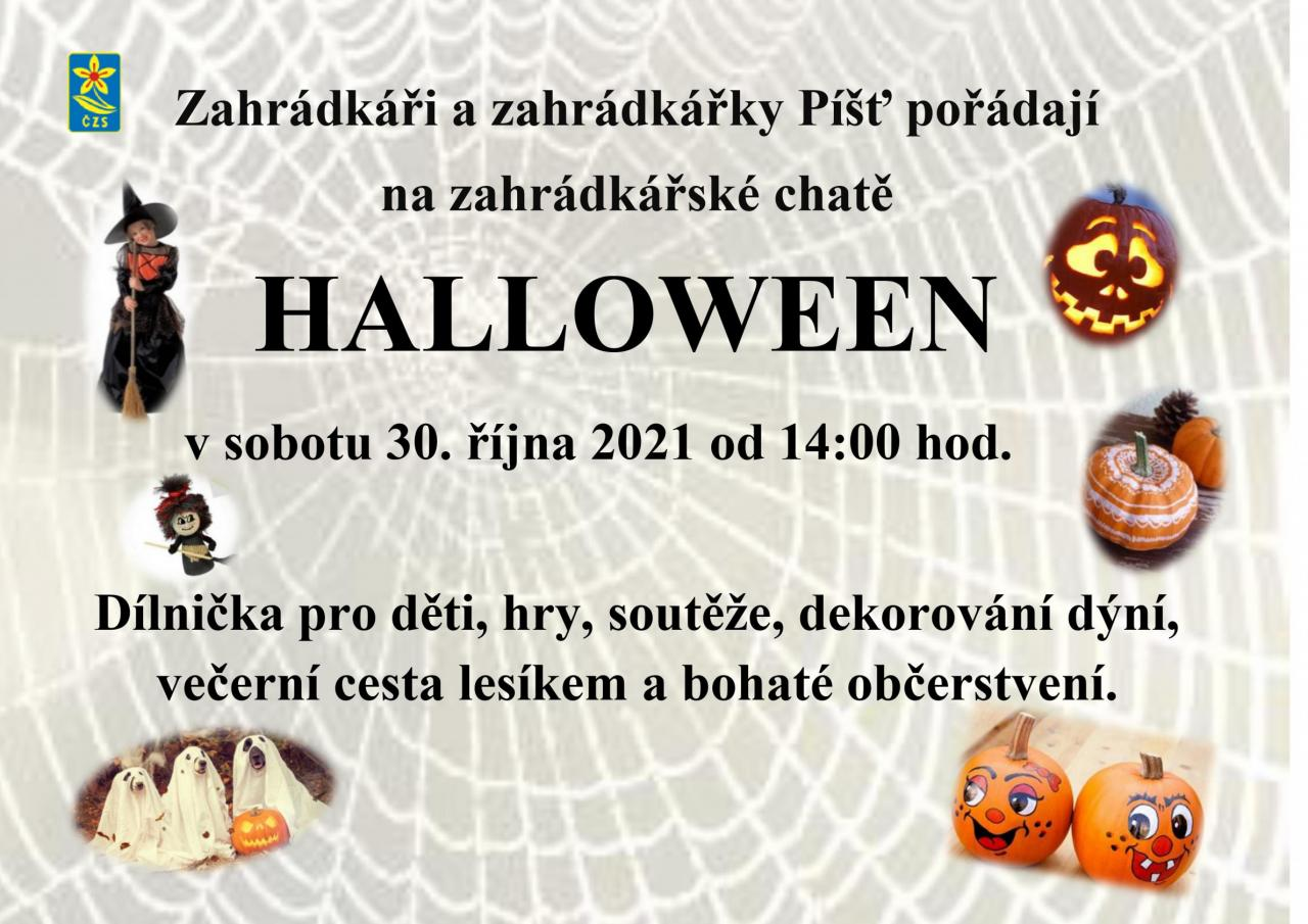 Halloween na zahrádkářské chatě 1