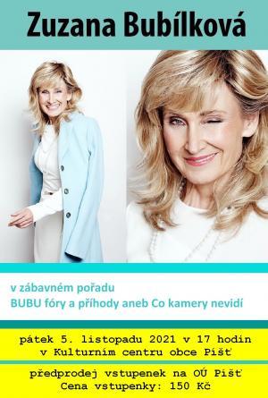 Bubu fóry a příhody - Zuzana Bubílková 1